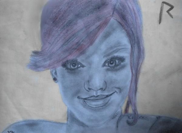Rihanna by Gaux